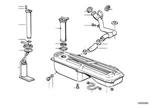 Zbiornik paliwa/Tłoczenie paliwa