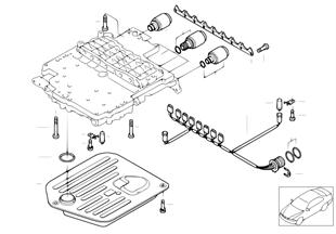 A5S440Z доп.элементы блока управления