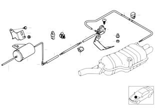 Unterdrucksteuerung-Abgasklappe