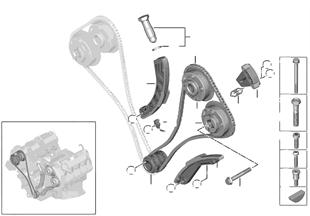 Steuertrieb-Steuerkette Zylinder 5-8
