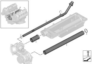 Kühlsystem-Rohrleitung