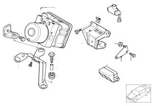 Hydroaggregat DSC/Halterung/Sensoren