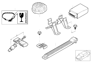 輪胎壓力監控 (RDC) 控制單元