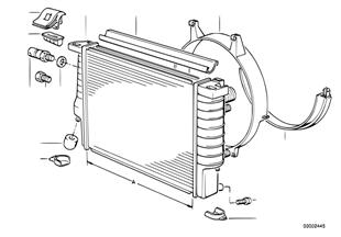 Vodní chladič/rám
