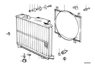 Radiator d.agua/cerco