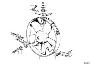Electric additional fan