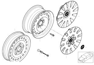 鋼製盤式輪輞 式樣 12