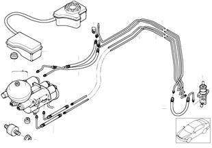 Привод сцепления коробки передач M