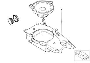 Einzelteile HiFi System hinten