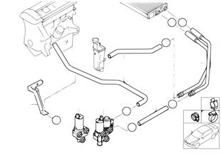 Tubos flexibles de agua/válvula de agua