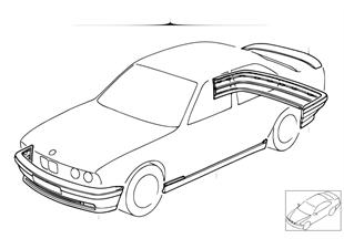 Dodatečná sada M aerodynamický paket
