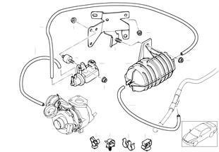 Sterowanie podciśnieniowe-turbospręż.