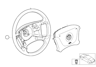 Volant de direction Airbag-Smart