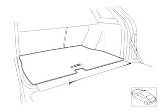 X5 trunk mat