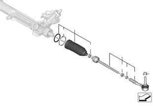 Direksiyon çubuk düzeni/Rot kolları