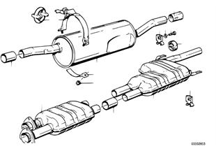 배기시스템,촉매기 미포함