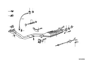 Система выпуска ОГ с катализатором