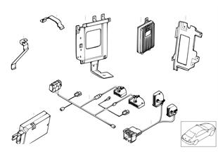 Pieces de coffre a bagages — serie v