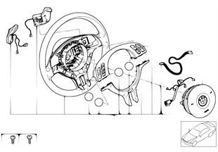 스포츠 스티어링휠,에어백,SMG 변속기용