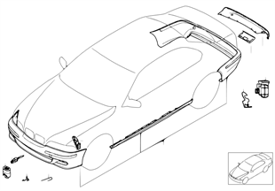 Zest. dop. — pakiet aerodyn. M (od 9/01)
