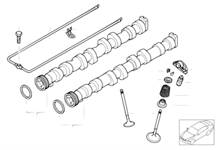 Valve timing gear — camshaft/valves