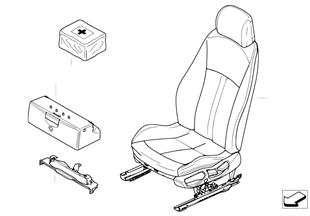 Sitz vorn Komplettsitz