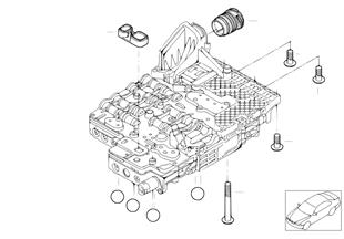 GA6HP26Z Mecatrónica piezas adic.