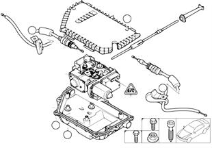 Hamulec postojowy/Jednostka nastawcza