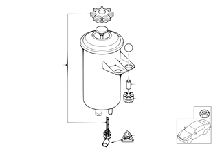 Dep. aceite/componentes/trac. autoadapt.