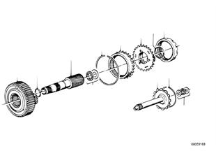 Zf 3hp22 jeux de roues planetaire