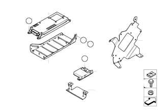 Επιμέρ.εξαρτήματα SA 638 χώρος αποσκευών