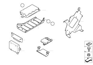 Детали SA 644 в багажнике