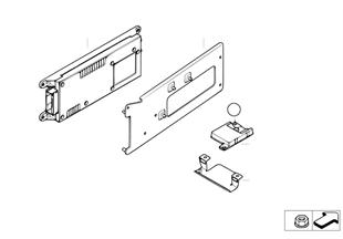 Детали SA 638 в багажном отделении
