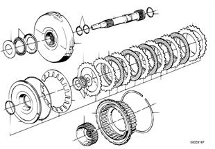 Zf 4hp22/24 drijfkoppeling a