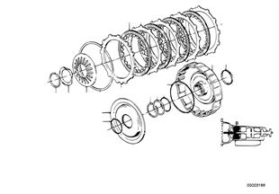 Zf 4hp22/24 drijfkoppeling b
