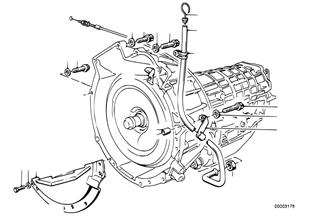 Versnellingsbak aanbouwdelen/bevestiging