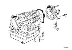 ZF 4HP22/24 ハウジング部品/オイル供給