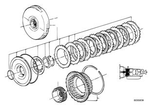 ZF 4HP22/24 ドライブ クラッチ A