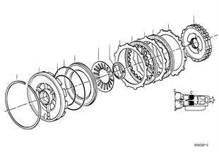 ZF 4HP22/24 ブレーキ クラッチ C'
