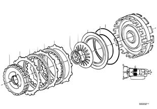 ZF 4HP22/24 Bremskupplung C