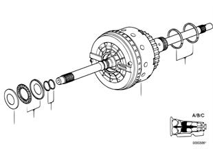 A5s560z embrague impuls.a/b/c
