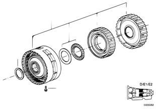 A5S560Z Bremskupplung D/E1/E2