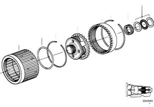 A5S560Z Planetenradsatz I