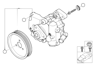 Насос гидроусилителя рулевого управления