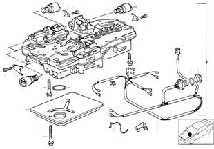 ZF 4HP22/24-EH Schaltgerät + Anbauteile