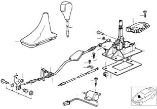Механизм переключения передач АКПП