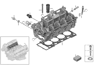 Zylinderkopf-Anbauteile
