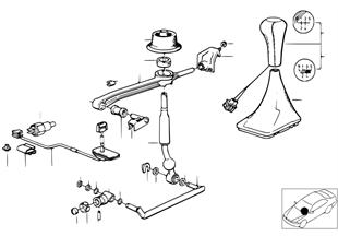 Mecanismo da caixa de velocidades manual