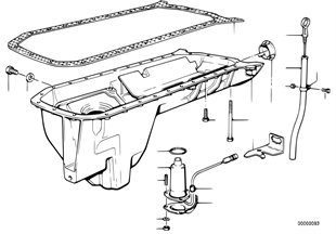 Ελαιολεκάνη/διάταξη μέτρησης λαδιού
