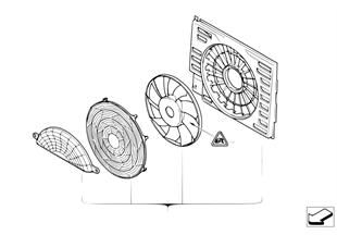 Pusher fan